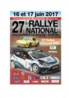 Affiche Rallye des Bornes 2017